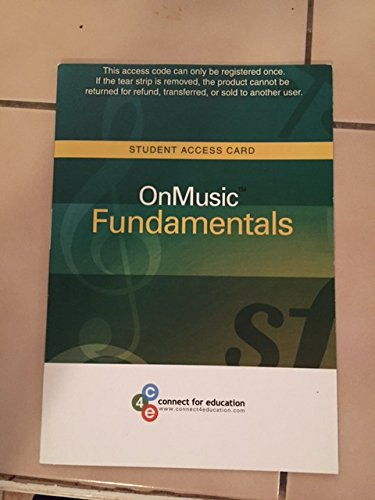 OnMusic Fundamentals