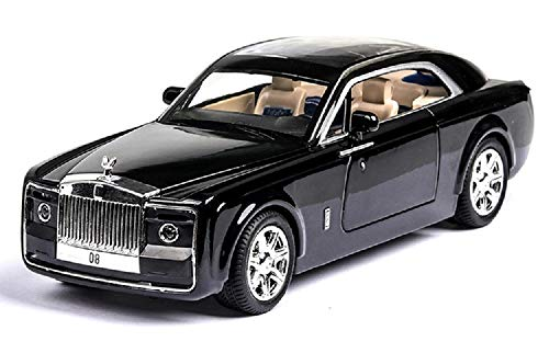 XLG 超高級車 ロールスロイス スウェプテイル ミニカー 1/28 Rolls Royce Sweptail ダイキャスト製 ( ブルー) [並行輸入品]
