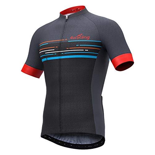 4ucycling Mes' Short Sleeve Cycling Jersey