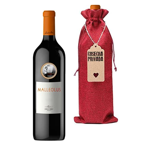 Malleolus - Botella para Regalo - Vino Tinto - Ribera del Duero - Bodegas Emilio Moro - Enviado por Cosecha Privada