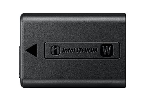 Sony NP-FW50 - Batteria originale ricaricabile per Fotocamere Sony Alpha 5100, 6000, 6100, 6300, 6400, 6500, 7, 7M2, 7R, 7RM2, 7S, 7SM2, DSC-RX10, M2, M3, M4