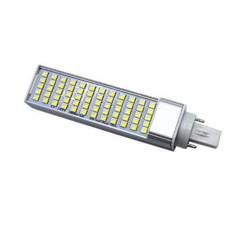 LED Corn Light G24 5730SMD 60 LED 10 W vervanging halogeenlamp 100W horizontale contactdoos voor gebruik in inbouw, laptop, gezinskamer, woonkamer, keuken (AC