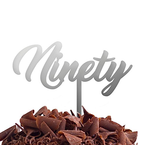 Directly Personalised Ninety 90 de gâteau fête d'anniversaire .b. Rapide et Gratuit Royaume-Uni Livraison