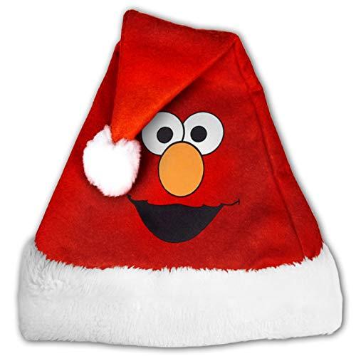 MXDISIWD Sombreros de Navidad Elmo Face Santa Sombreros para Navidad Disfraz Fiesta Decoracin