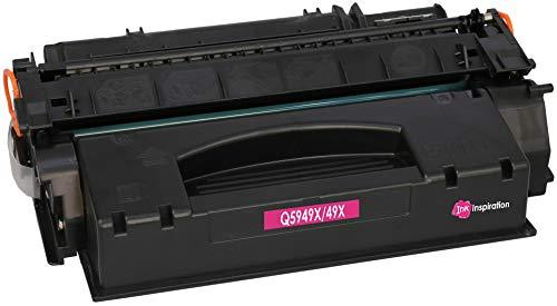INK INSPIRATION® Premium Toner kompatibel für HP Q5949X 49X Laserjet 1320, 1320N, 1320NW, 1320TN, 3390, 3390AIO, 3392AIO | 6.000 Seiten