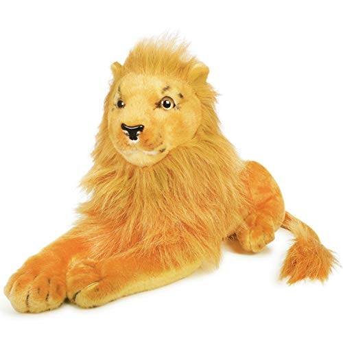 VIAHART Lasulu The Lion | 18 Inch (Tail Measurement Not Included!) Stuffed Animal Plush Cat | by Tiger Tale Toys