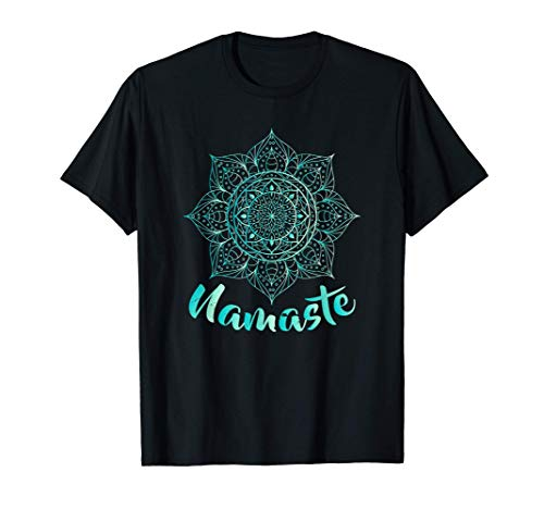 Namaste - Lotus Flower - Spiritual Yoga Om Camiseta