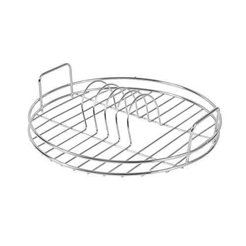 Circular Dish Drainer | Round Draining Rack | Draining Board | Round Sink Drainer | Chrome Dish Drying Rack | M&W
