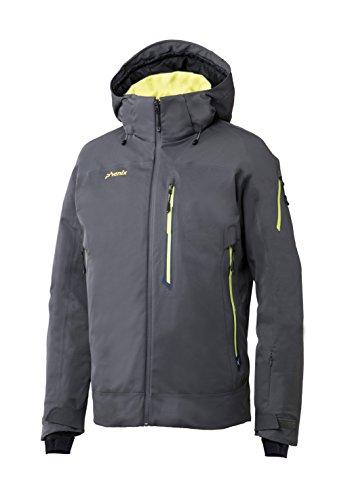 Phenix Herren Boulder Jacket Skijacke, Grau (Charcoal Grey), Gr. 54/XL