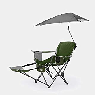 SKLZ Sport-Brella Recliner Chair - Easily adjustable 3-position recliner and stay protected with the 360-degree overhead u...