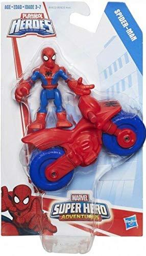 Playskool Heroes Marvel Super Hero Adventures Bike and Rider Spiderman