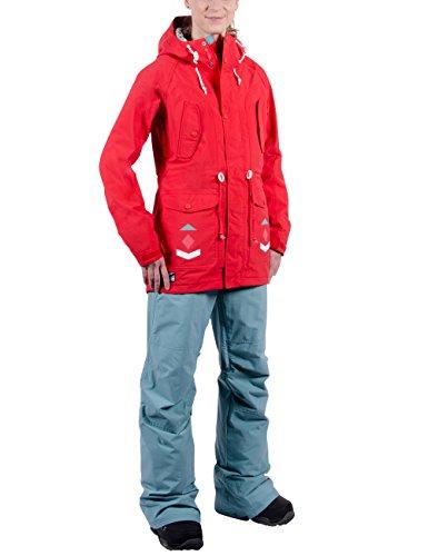 Nitro Damen Snowboard-Jacke Niseko W Jacket 15, Tomato, S