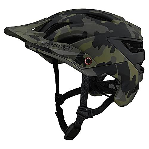 Troy Lee Designs Adult|Trail|XC|Mountain Bike A3 Helmet Camo W/MIPS (Green, XL/2X)