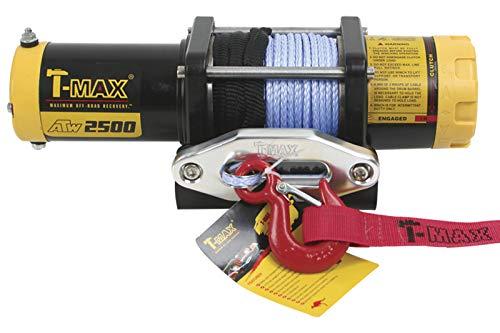 T-MAX Seilwinde ATW-2500lbs 12V 1135kg Plasmakabel