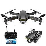 Goolsky Global Drone GW89 RC Drone Drone x procon Cámara 1080P WiFi FPV Foldable Controles Remotos Plegable RC Selfie Quadcopter para Niños Principiantes Entrenamiento (Negro, 1 Batería)