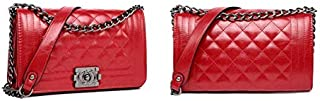 Women Leather Chain Crossbody Bag Ladies HandBag