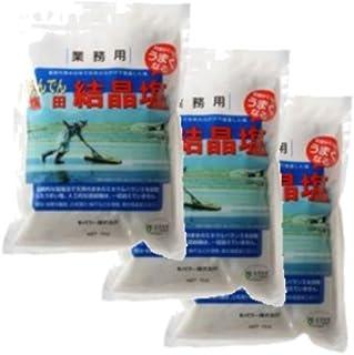 韓国塩田塩 結晶塩 3袋セット