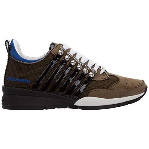 Dsquared2 Herren 251 Sneaker Verde Militare 40 EU