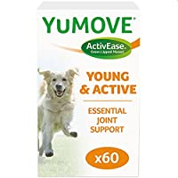 Multi-action joint support for young, growing dogs Natural dog joint supplement to support joint development, aid active joints, promote agility and growth and help with exercise recovery Enriched with ultra-high quality Omega 3s from the world's top...