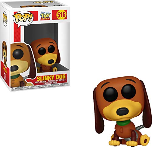 Funko 37010 Pop: Toy Story-Slinky Dog Figura Coleccionable, Multicolor
