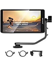 """Neewer FW568 5.5"""" Camera Field Monitor with 4K HDMI 8.4V DC Input Output, Video Peaking Focus Helps with Swivel Arm for Sony, Nikon, Canon, DSLRs and Gimbals (Battery not included)"""