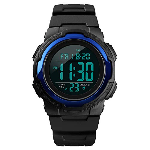 Smart Watch for Men Compatible with Android iPhone Samsung, Heart Rate Blood Pressure Oxygen Sleep Monitor Pedometer GPS, Waterproof Sport Fitness Tracker Smartwatch …