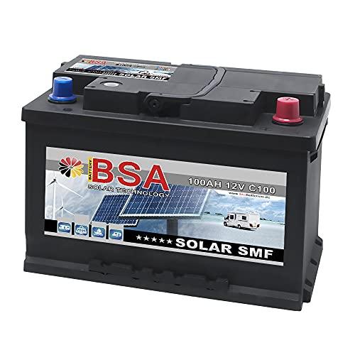 Solarbatterie 100Ah C100 12V Solarakku Versorgungsbatterie Wohnmobil Batterie