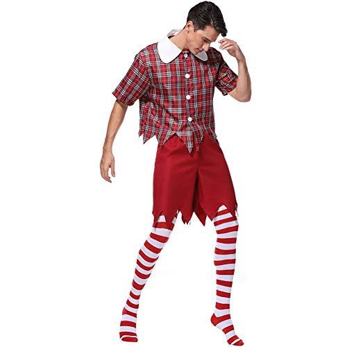 Halloween Masquerade Heren Prestatie Kostuums, Clown Kostuums, Volwassen Party Stage Kostuums, Grappige Joker Kostuums, Fairy Tale Wizard van Oz