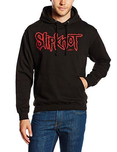 Slipknot Herren Umstands Sport Hoodie Logo, Schwarz (Black), XL