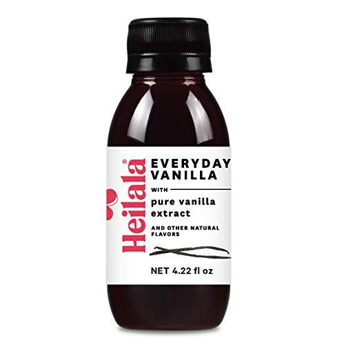 Heilala Everyday Vanilla, 125 ml - con estratto di vaniglia puro e altri aromi naturali, senza glutine, baccelli di vaniglia di provenienza etica dalla Polinesia