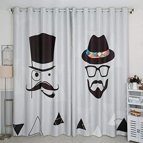 cortinas dormitorio gris