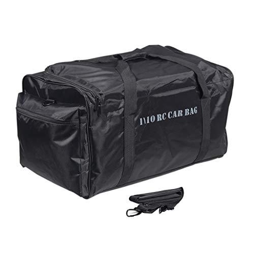 HSKB Auto Handtasche, Tragetasche Box für 1/10 1/8 HSP TRX-4 SCX10 D90 RC Crawler Car RC Rucksack wasserdichte Tasche Portable Handtasche Tragekoffer