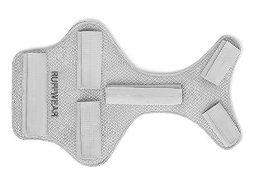Ruffwear Kühlender Brustschutz für Hunde, Kompatibel mit bestimmten Ruffwear Geschirren und Hunderucksäcken, Größe: S, Grau, Core Cooler, 3085-033S