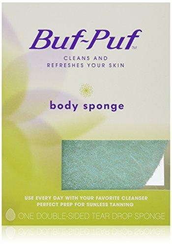 Buf-Puf Double-Sided Body Sponge 6 Pack