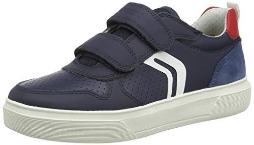 Geox J NETTUNO Boy C, Zapatillas, Azul Marino, 30 EU