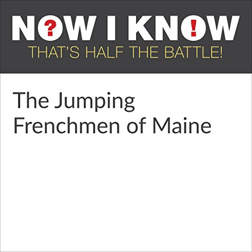 The Jumping Frenchmen of Maine audiobook cover art