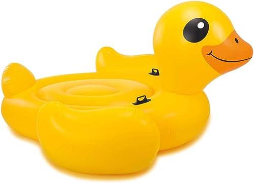 Arichtop Compatible for Index Aufblasbare Badeinsel Mega Gelb Duck Island 56286EU