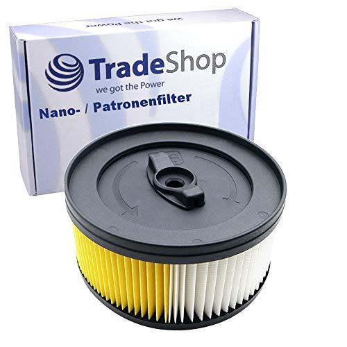 Nano Patronenfilter Rund-Filter ersetzt 6.414-960.0 für Kärcher WD 4.200-WD 5.999 WD 4 WD 5 WD 4.200 WD 4.250 WD 4.290 WD 4.500 WD 5.200M WD 5.300 WD 5.300M WD 5.400 WD 5.450