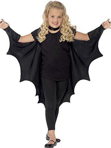 Smiffys Kinder Kostüm Umhang Fledermaus Vampir Halloween Karneval Fasching