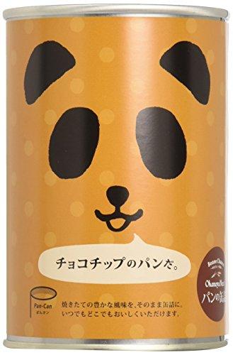 フェイス パンの缶詰 チョコチップX24個 製造より3年保存 備蓄用保存パン [0013]