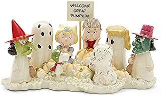 Lenox Peanuts Welcome Great Pumpkin Figurine Halloween Charlie Brown Snoopy
