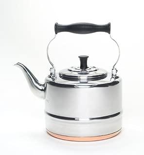 BonJour 53087 Stainless Steel Teakettle, 2-Quart
