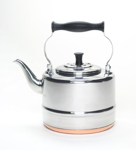 BonJour 53087 Stainless Steel Teakettle, 2-Quart