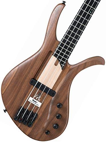 Ibanez AFR4WAP Natural Flat Elektrische Bassgitarre, 4 Saiten