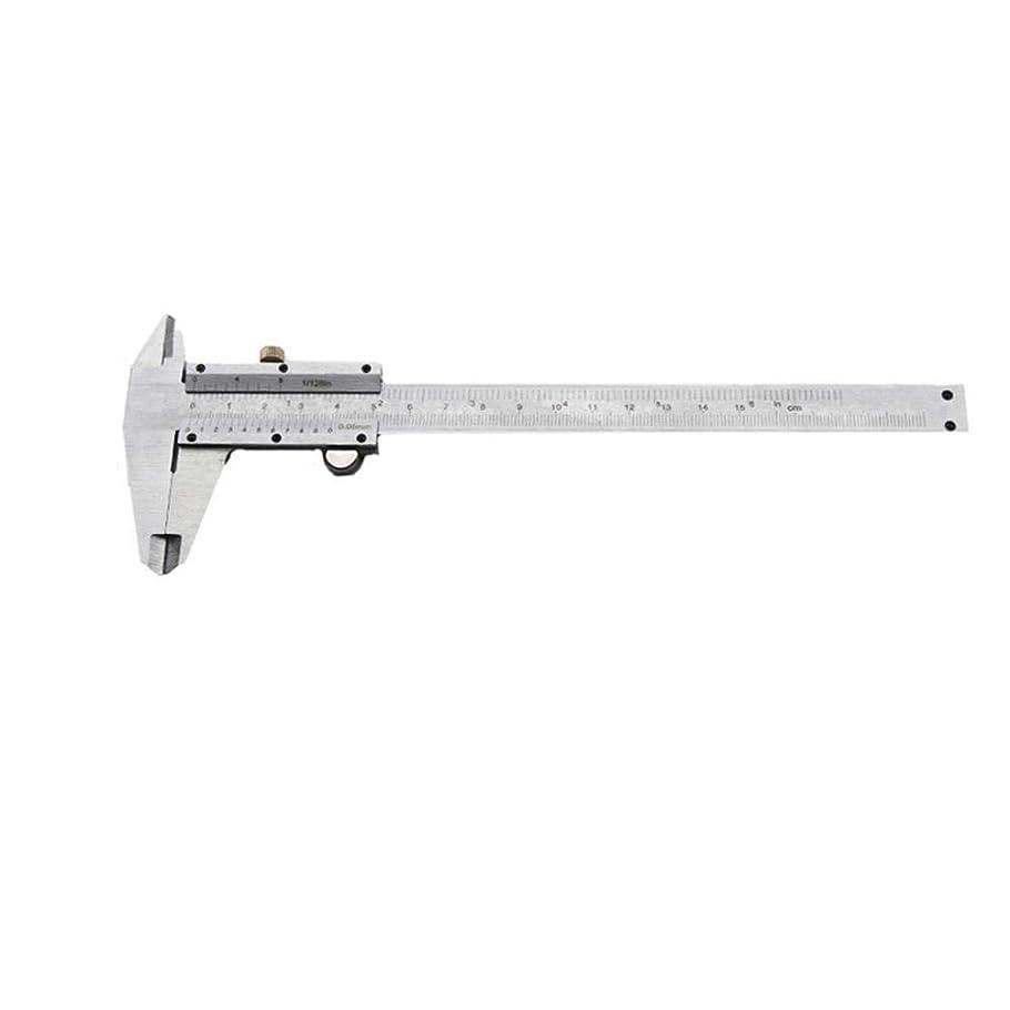 接続詞りんご体現する金属ノギス150mm / 0.05mm炭素鋼ノギスゲージマイクロメータ測定ツール機器キャリパー