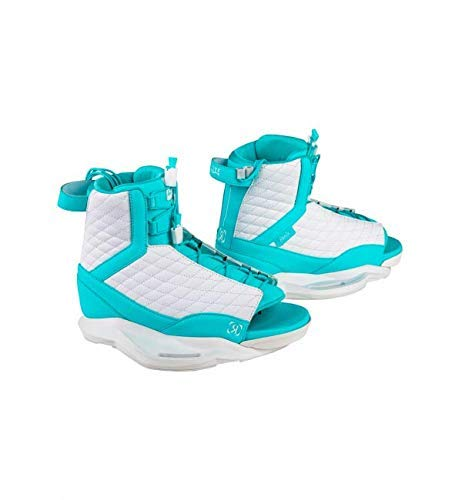 Ronix Luxe Women's Wakeboard Boots - White/Blue Orchid - 8-10.5