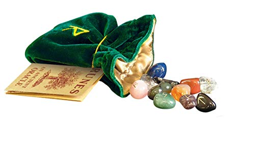 Juego de Runas de Cristal Divinación