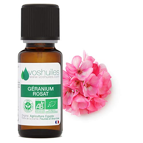 Huile Essentielle BIO de Géranium Rosat - 5ml
