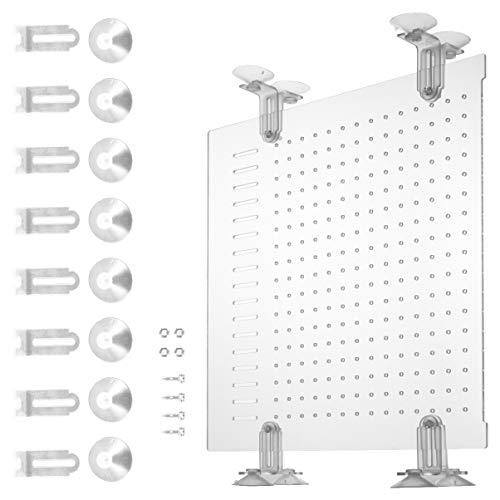 Balacoo Aquarium Aquarium Acryl Trennwand Isolation Board für Mischzucht (Weiß 30 * 30Cm)