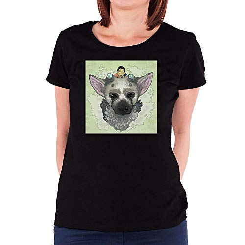 FANGYONGX Femme Funny The Last Guardian Trico Manches Courtes/T Shirt Tees Black